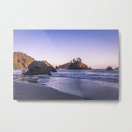 The Cove At Sunset Metal Print
