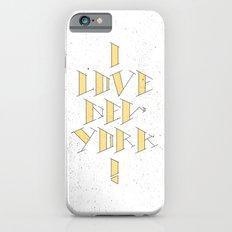 I Love New York Slim Case iPhone 6s