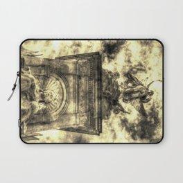 Queen Victoria memorial London Vintage Laptop Sleeve