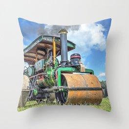 Marshall Steam Roller Throw Pillow