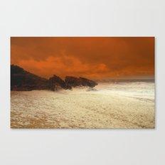 Sea Foam & Rough Seas Canvas Print