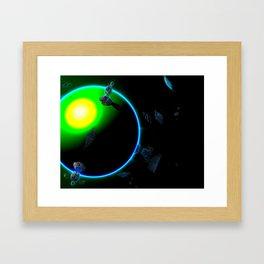 Complex simplicity Framed Art Print