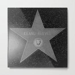 Keanu Reeves Metal Print