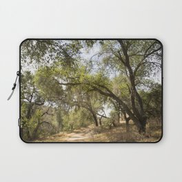 Follow The Tree Lined Trail Laptop Sleeve