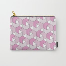 Chevrons - Pink Carry-All Pouch