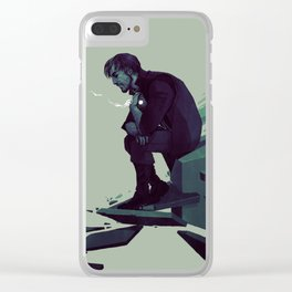DH: We shouldn't be here Clear iPhone Case