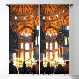 The Apse Of Hagia Sofia Blackout Curtain