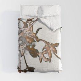 Frosty Hydrangea 6 Comforters