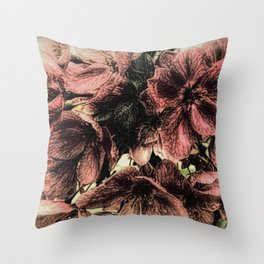 Rustic Cherry Flower Cottage Modern Country Art A423 Throw Pillow