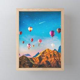 Balloon Fiesta Framed Mini Art Print