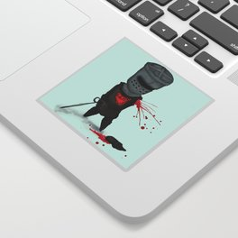 The Black Knight Sticker