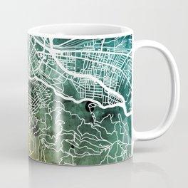 Cape Town South Africa City Street Map Coffee Mug