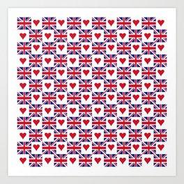 Flag of UK 15- London,united kingdom,england,english,british,great britain,Glasgow,scotland,wales Art Print