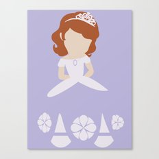 Sofia the First Canvas Print