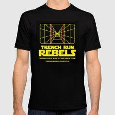 Trench Run Rebels Mens Fitted Tee Black MEDIUM