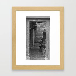 China Stories #8: Where does this door go? Framed Art Print