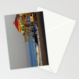 Morning Surfing Huntington Beach Pier Stationery Cards