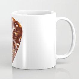 Treble Cleff Plectrum Coffee Mug