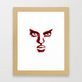 I Know What You're Thinking Framed Art Print