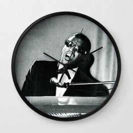 Ray Charles (Public Domain) Wall Clock