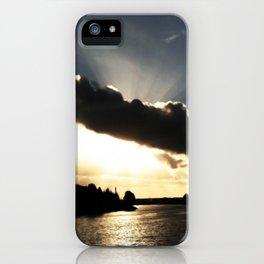 God-rays iPhone Case