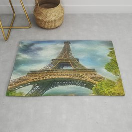 Eiffel Tower - La Tour Eiffel Rug