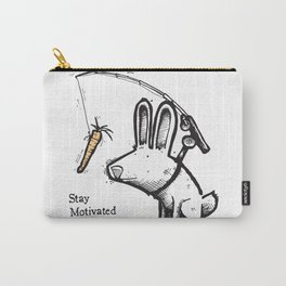Stay Motivated Carry-All Pouch