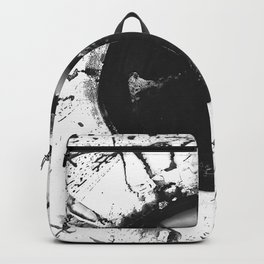 Abstract Ink dot Backpack