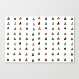 Hats for Winter Canvas Print