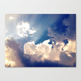 Let The Light Shine Canvas Print