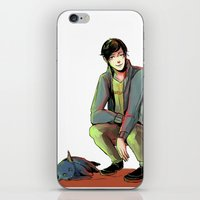 jem iPhone & iPod Skins featuring Jem and Church by The Radioactive Peach