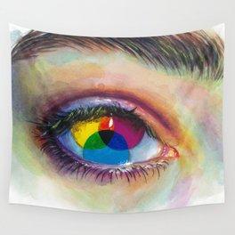Eye of an artist Wall Tapestry