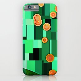 Green Morning iPhone Case