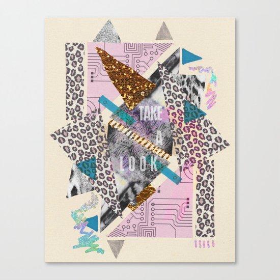(DREAMER) Take A Look  Canvas Print