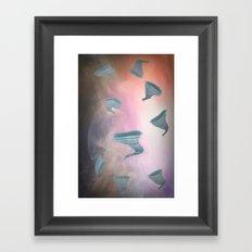 Twisters Framed Art Print