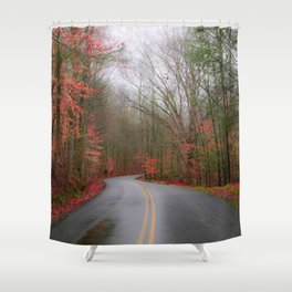 Sunsphere Shower Curtain