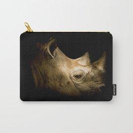 Black Rhino Portrait Carry-All Pouch