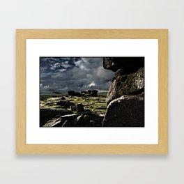 MOODY DARTMOOR Framed Art Print
