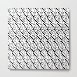 Squawk Box Metal Print