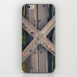 Boren and Pine iPhone Skin