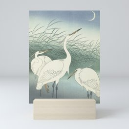 Herons in Shallow Water, Ohara Koson, 1934 Mini Art Print