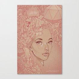 Honey Lamb Canvas Print