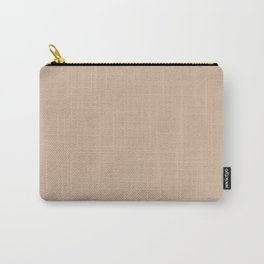 Toasted Almond Color Accent Carry-All Pouch