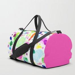 Messy Paint Palette Duffle Bag