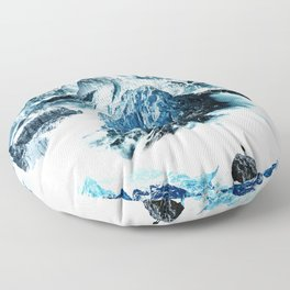Frozen isolation Floor Pillow