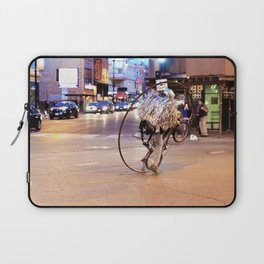 Performance Art on the Streets of Bucktown, Chicago 03 Laptop Sleeve