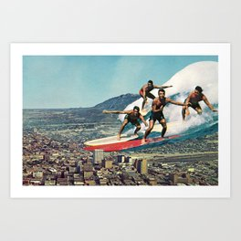 Of Course Art Print