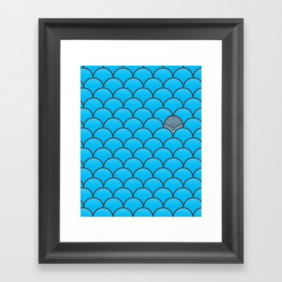 The Last Dolphin Framed Art Print