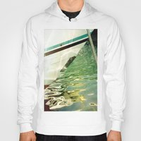 boat Hoodies featuring Boat by Maite Pons