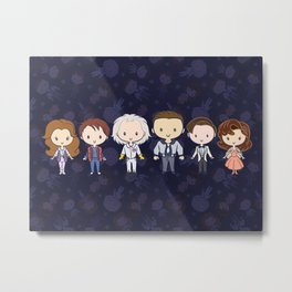Back in Time: Lil' CutiEs Metal Print